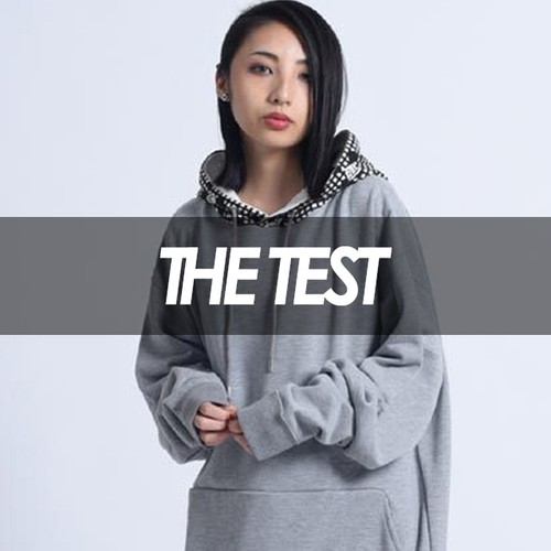 THE TEST×TREKKIE TRAX - ナイトカモBIGパーカー