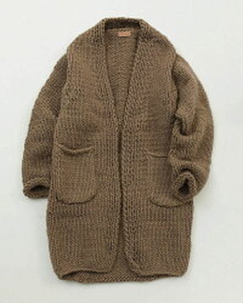 Handknit Long Cardigan 11920505 TODAYFUL トゥデイフル