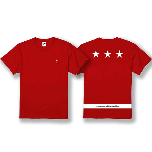 【C&H T-shirt】/ red
