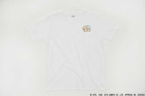 Sanrio x Glitch Embroidery Tee