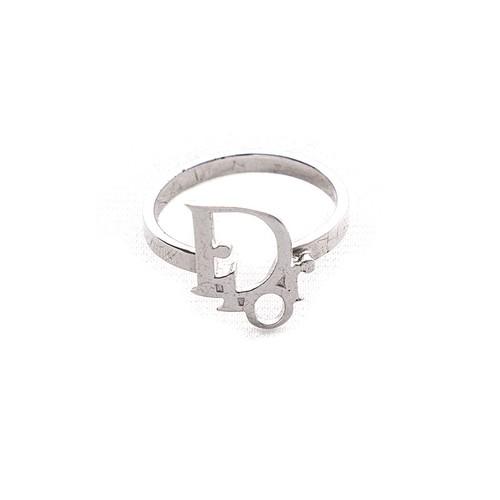 Christian Dior/クリスチャンディオール Diorロゴリング / 指輪 シルバー(LU0018)