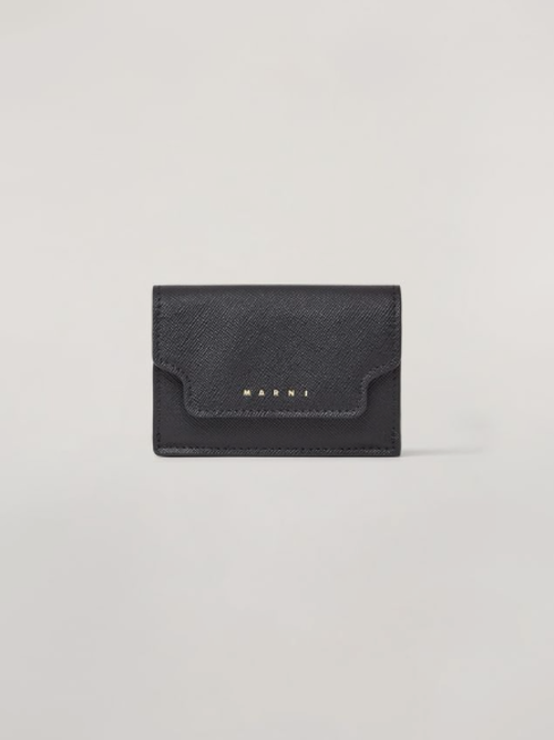 【20SS】MARNI / SAFFIANO LEATHER TRI-FOLD WALLET