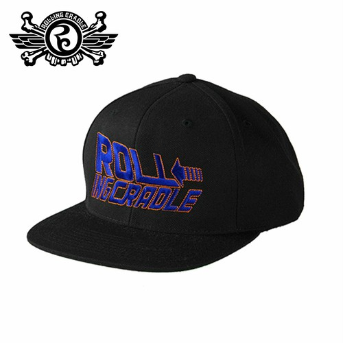 ROLLING CRADLE (ロリクレ) | TIME TRAVEL CAP (Black)