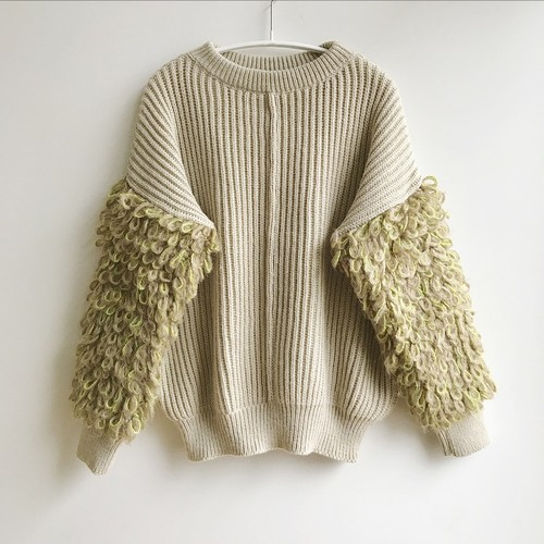 Poodle Pullover Knit