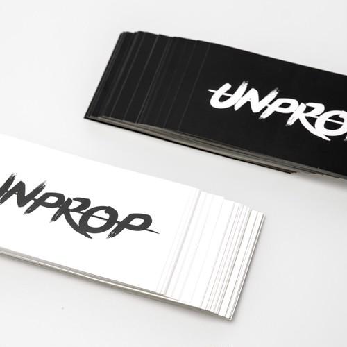 UNPROP original sticker