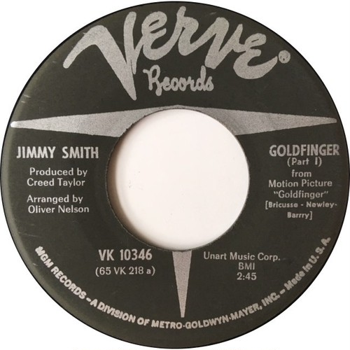 Jimmy Smith ‎– Goldfinger