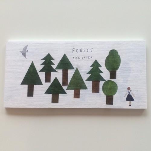nishi shuku 一筆箋 FOREST