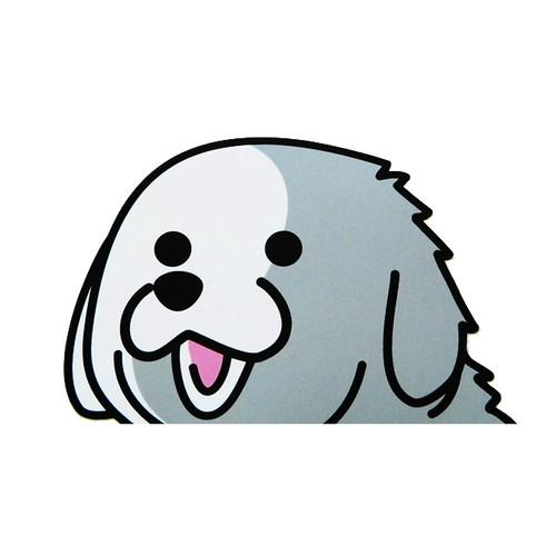 グレートピレニーズ(大)     犬ステッカー
