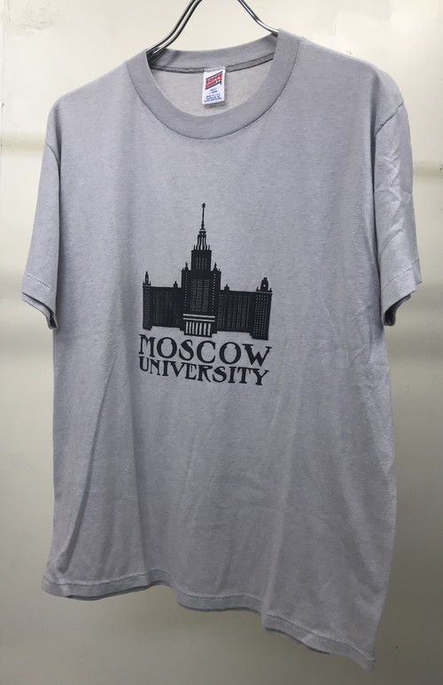 1980s MOSCOW UNIVERSITY T-SHIRT