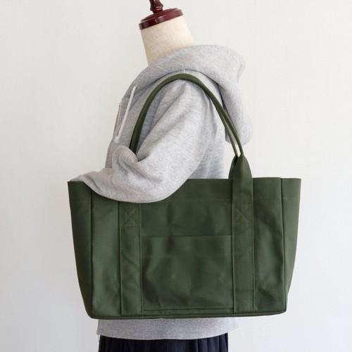 トートバッグ 01 【マチ10㎝】オリーブ / 9号帆布