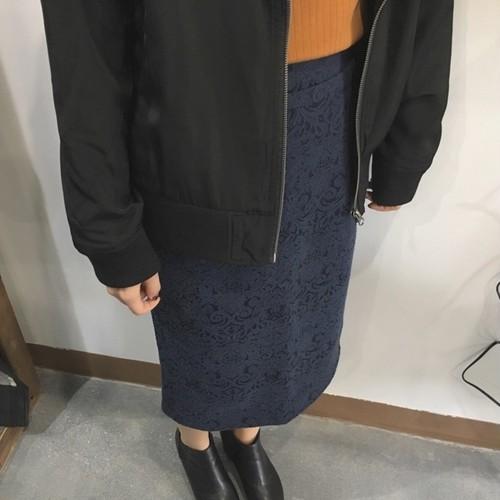 【SALE】ジャガードタイトスカート【&mode】