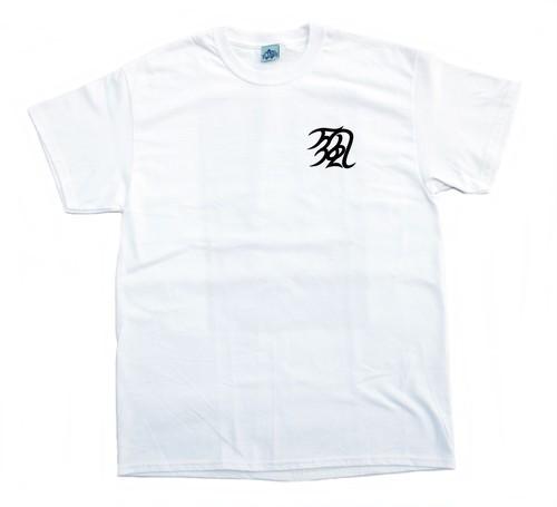 MAN WHO 万風 TEE WHITE マンフー Tシャツ