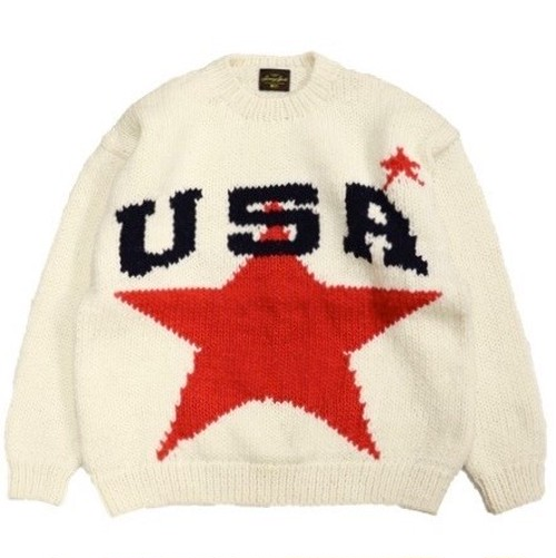 SUNNY SPORTS/サニースポーツ | USA CREW SWEATER - White