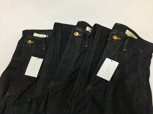 "semoh""denim pants blue"""