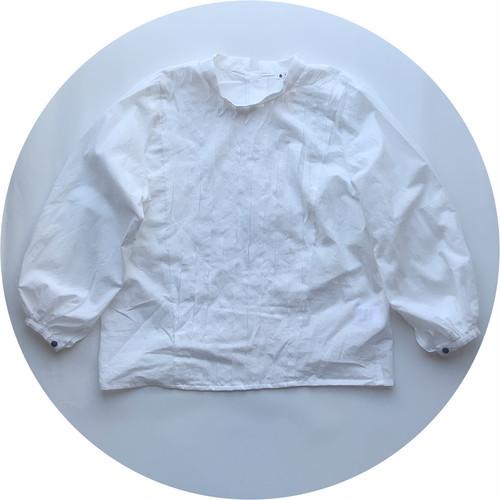 【スラッシュブラウス】60ローン/オフホワイト