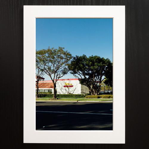 A4+α Size Paper frame「Sunset Roadside」