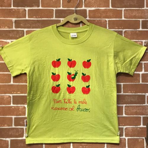 Item124T イタリア シチリア島から来た ファミリーでお揃いのTシャツ Bruco (いも虫) キッズ用