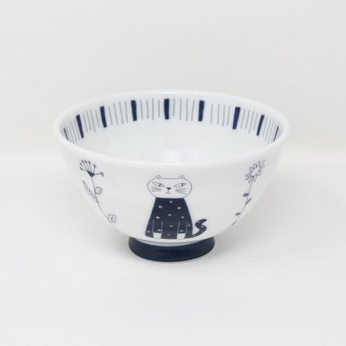 猫飯碗(ウチ猫飯碗お座り猫)