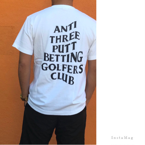 Vond×Golf/BETTING GOLFERS CLUB/Tシャツ/6color