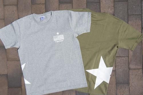 【STAR logo T-shirt】/ Gray