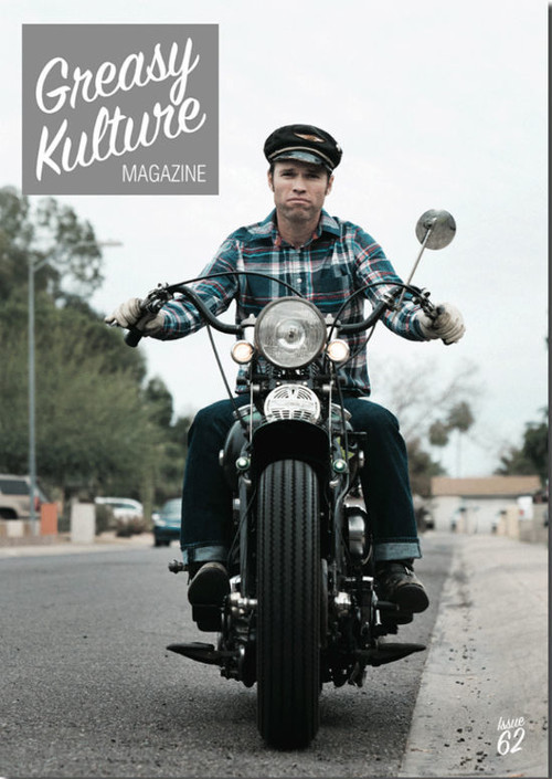 Greasy Kulture magazine issue#62