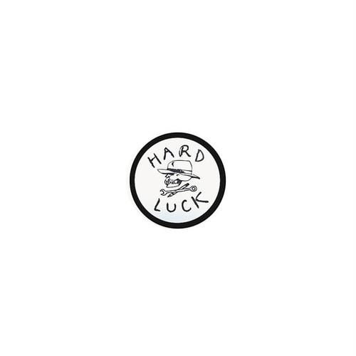 HARD LUCK - OG STICKER (White/Black) 38mm