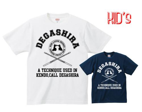 """""""DEGASHIRA"""" T-SHIRTS キッズサイズ"""