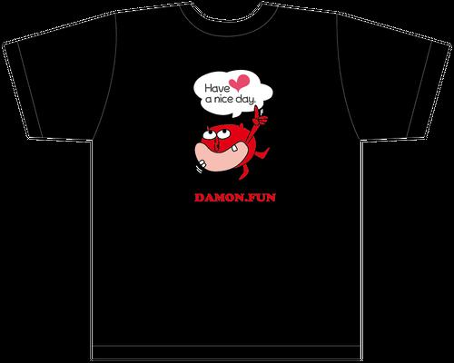 カルダモンTシャツ US:S&Mサイズ(キラキラブラック)
