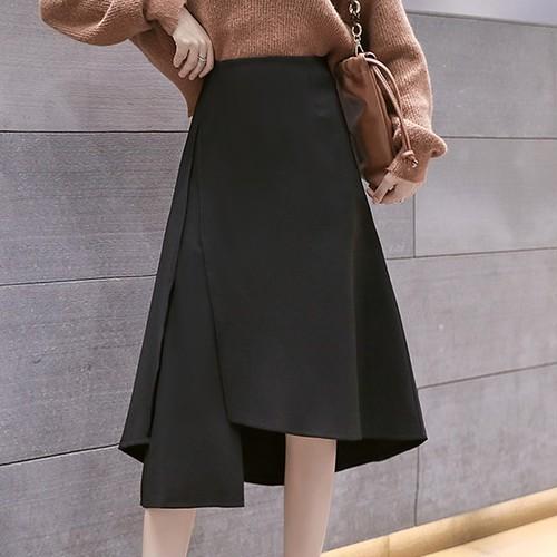 【 ボトムス】ファッション通勤不規則スカート26720262