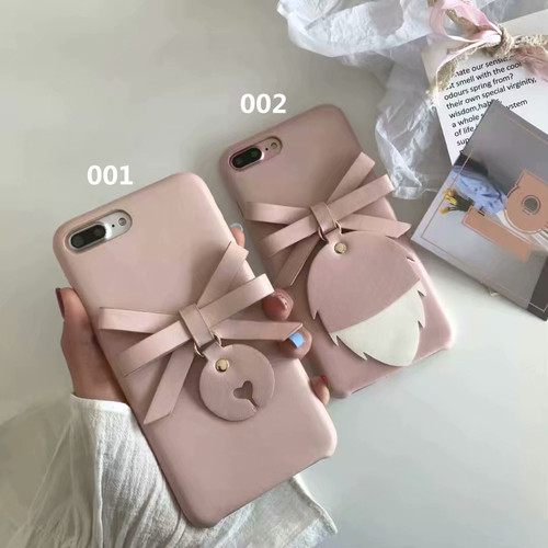 ORIGINAL 蝶結び iPhone Xケース かわいい レディース愛用 iPhone8/7plus ケース 個性 iphone7カバー ピンク 送料無料