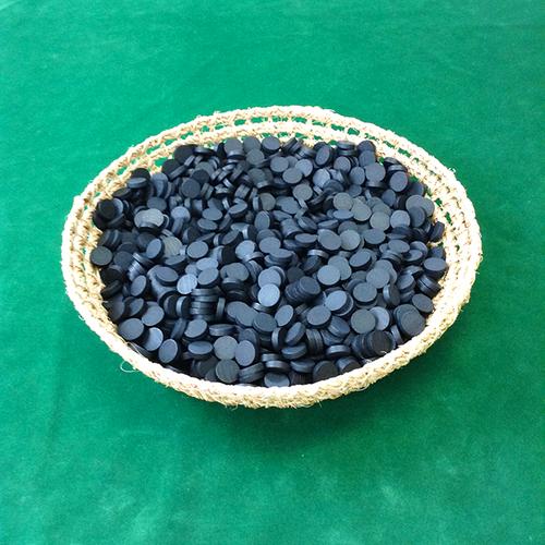 黒15mm木製ディスク(約1000個)