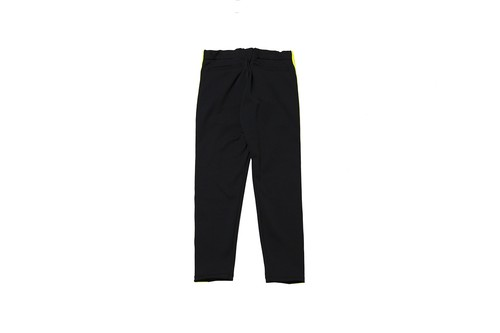 "EZ DO by EACHTIME. ""NIGHT CRUISING JERSEY PANTS"" BLACK"