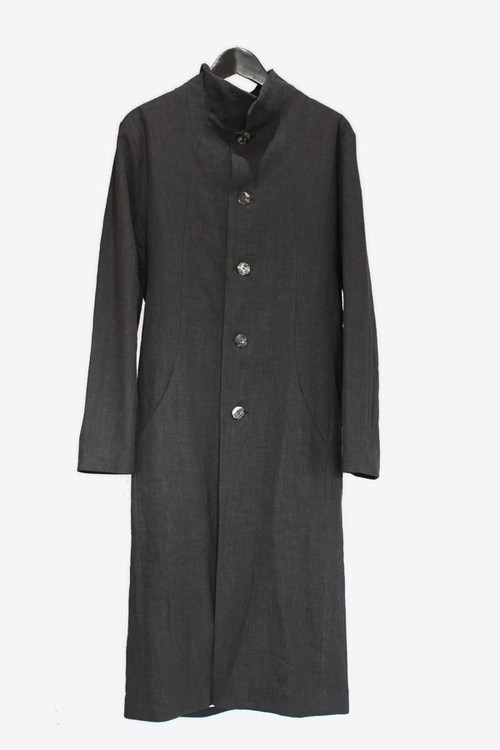 【Atelier Aura/アトリエアウラ】Larus long linen coat