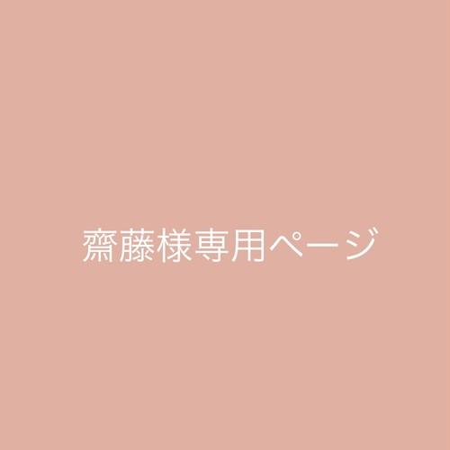 齋藤様専用ページ