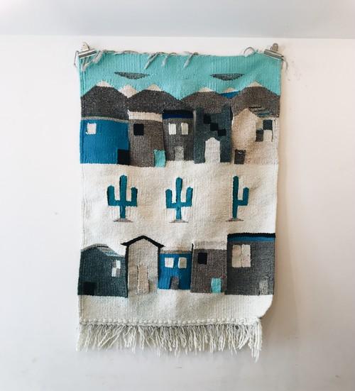 Vintage Hand-woven Wall Rug