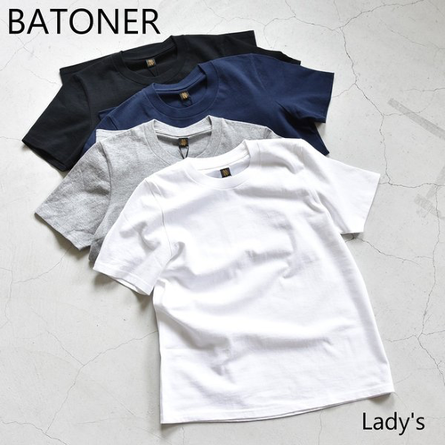 BATONER/バトナー/Pack T-Shirt (Lady's)