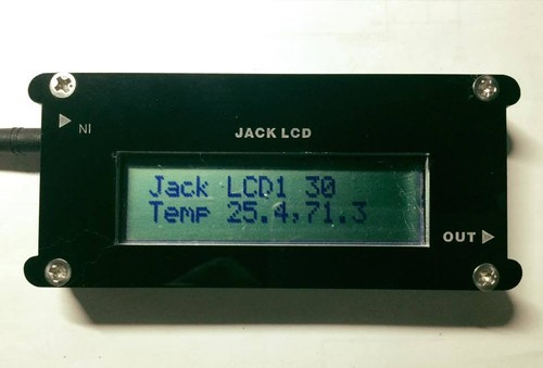 JACKCELL LCDキャラクタ表示 - JACKCELL-LCD