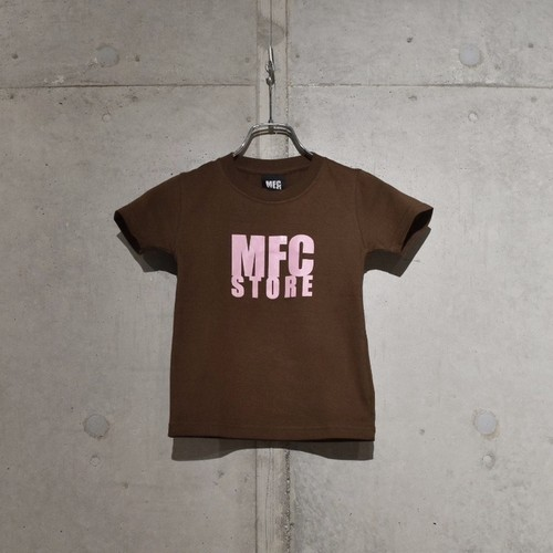 MFC STORE LOGO KIDS TEE / BROWN x PINK