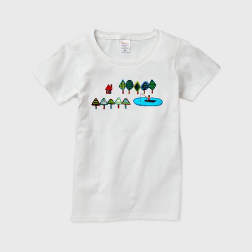受注制作 / Tシャツ/ フォレストハウス / レディース