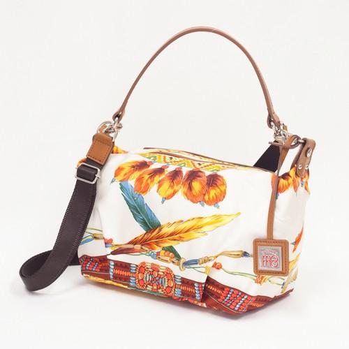 【エクレア/羽飾り】Momoyokohama  スカーフバッグ