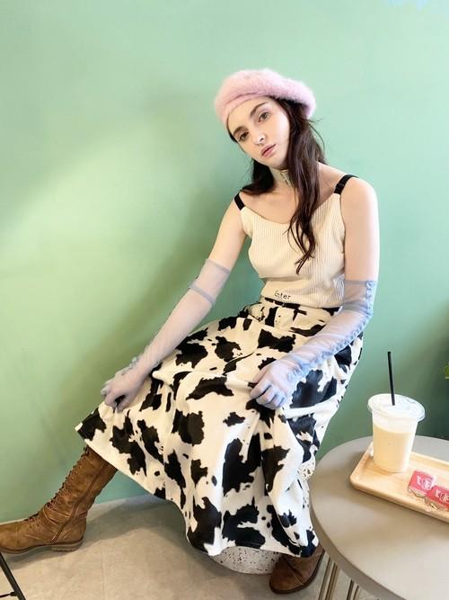 cow girl long skirt(カウガールロングスカート)