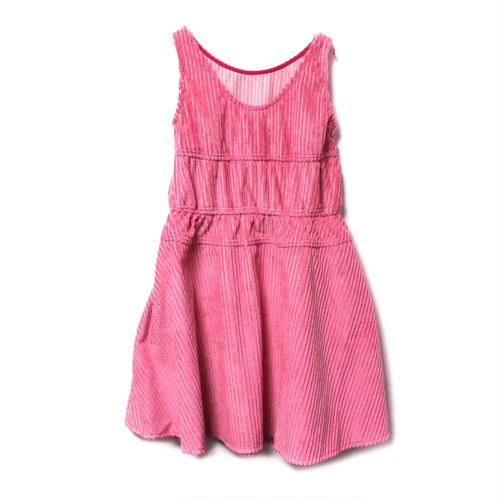 【SOMEWHERE NOWHERE】Corduroy dress pink