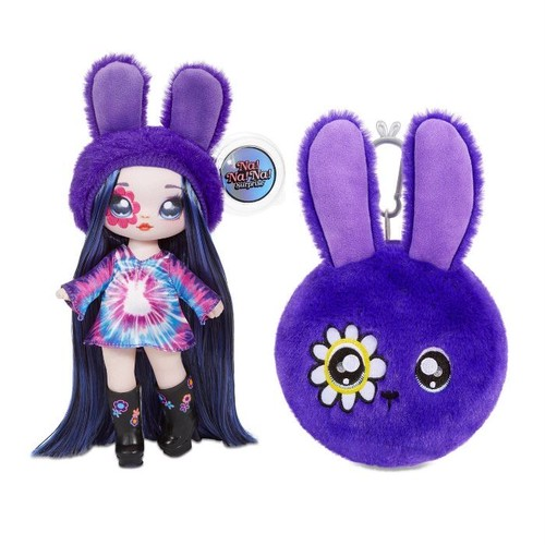 送料無料 Na! Na! Na! Surprise 2-in-1 Fashion Doll and Plush Purse Series 4 – Melanie Mod