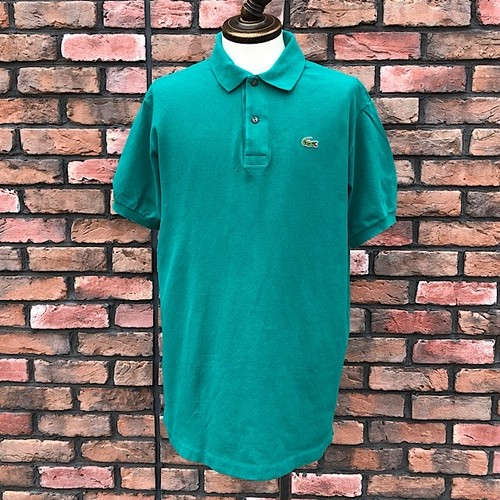 1980s Lacoste Polo Shirt Made In France Green 7