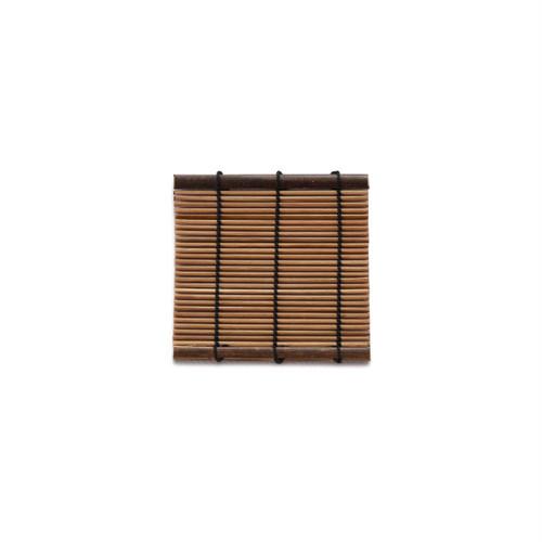 すす竹コースター(小)(1枚) 【50-087】