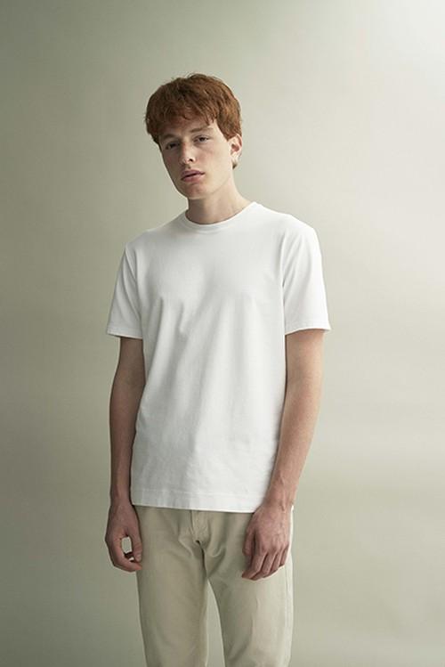 クルーネック Tshirt(White)