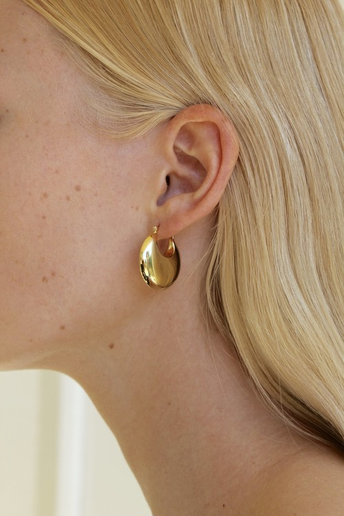 【Pre-Order】SOPHIE BUHAI - GOLD CLASSIC COWBELL EARRINGS