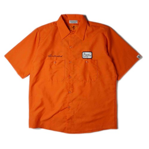 """ANRIVALED by UNRIVALED """"No.13 S/S SHIRT"""" ORANGE"""