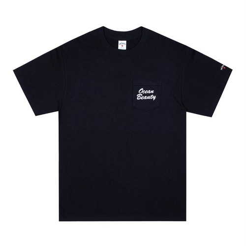 Ocean Beauty Pocket Tee(Black)
