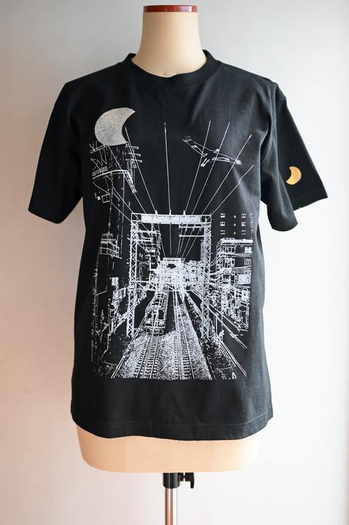 NO.474 鶴間駅前陸橋からのTシャツ【神奈川】